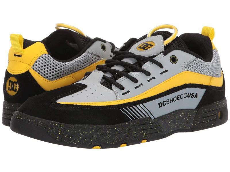 ディーシー メンズ スニーカー シューズ Legacy 98 Slim Black/Grey/Yellow