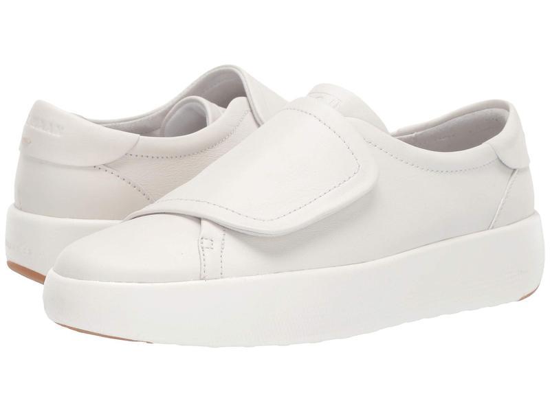 コールハーン レディース スニーカー シューズ Grandpro Tennis Flatform Monk Optic White