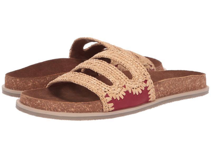 フリーピープル レディース サンダル シューズ Crete Footbed Sandal Red