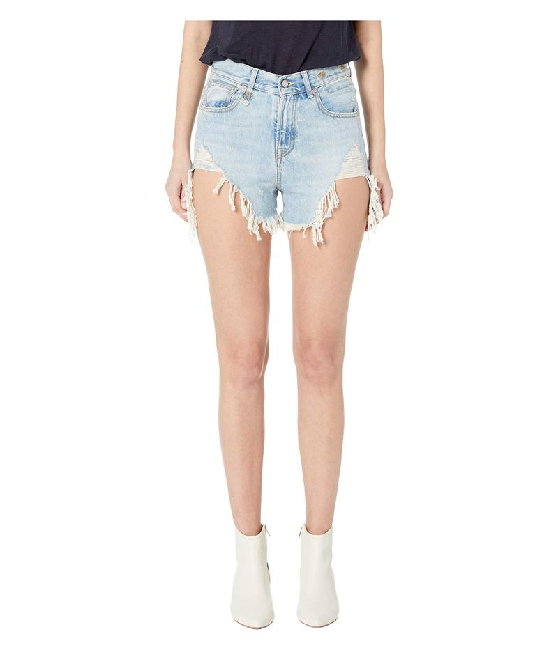 アールサーティーン レディース ハーフパンツ・ショーツ ボトムス Shredded Slouch Shorts Tilly