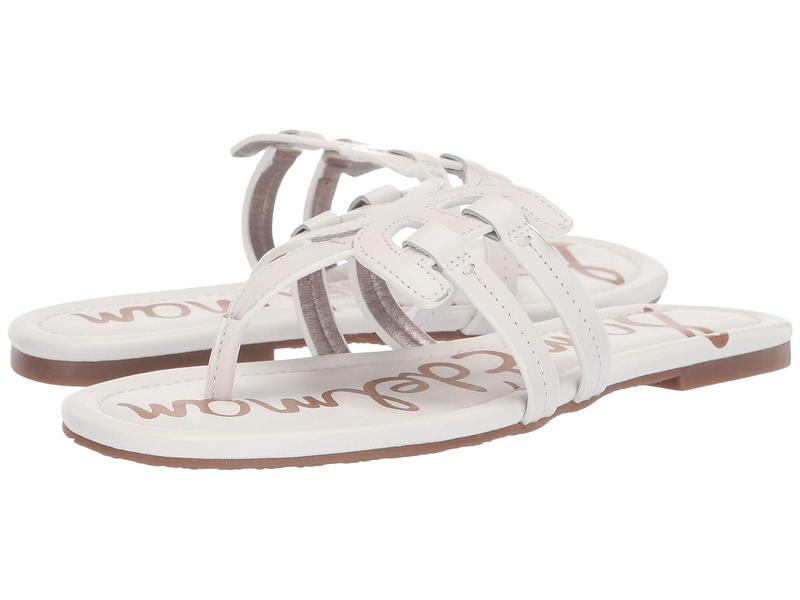 サムエデルマン レディース サンダル シューズ Cara Bright White Atanado Leather