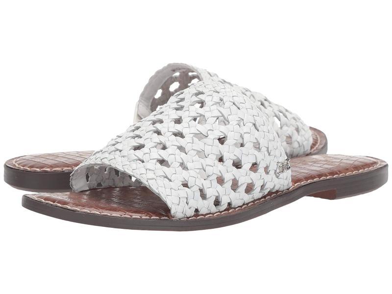 サムエデルマン レディース サンダル シューズ Genovia White Woven Leather