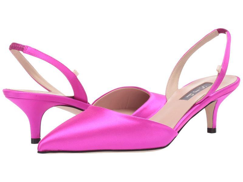 エスジェイピーバイサラジェシカパーカー レディース ヒール シューズ Bliss 50 Candy Pink Satin