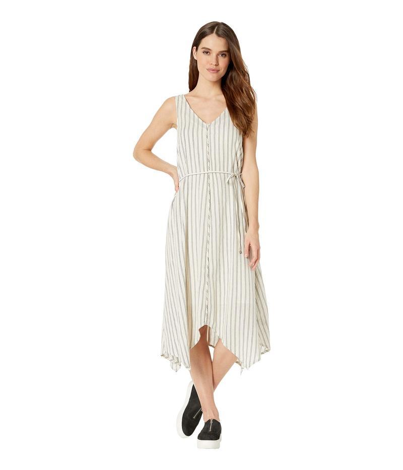 スプレンディット レディース ワンピース トップス Tie Waist Dress Off-White/Black
