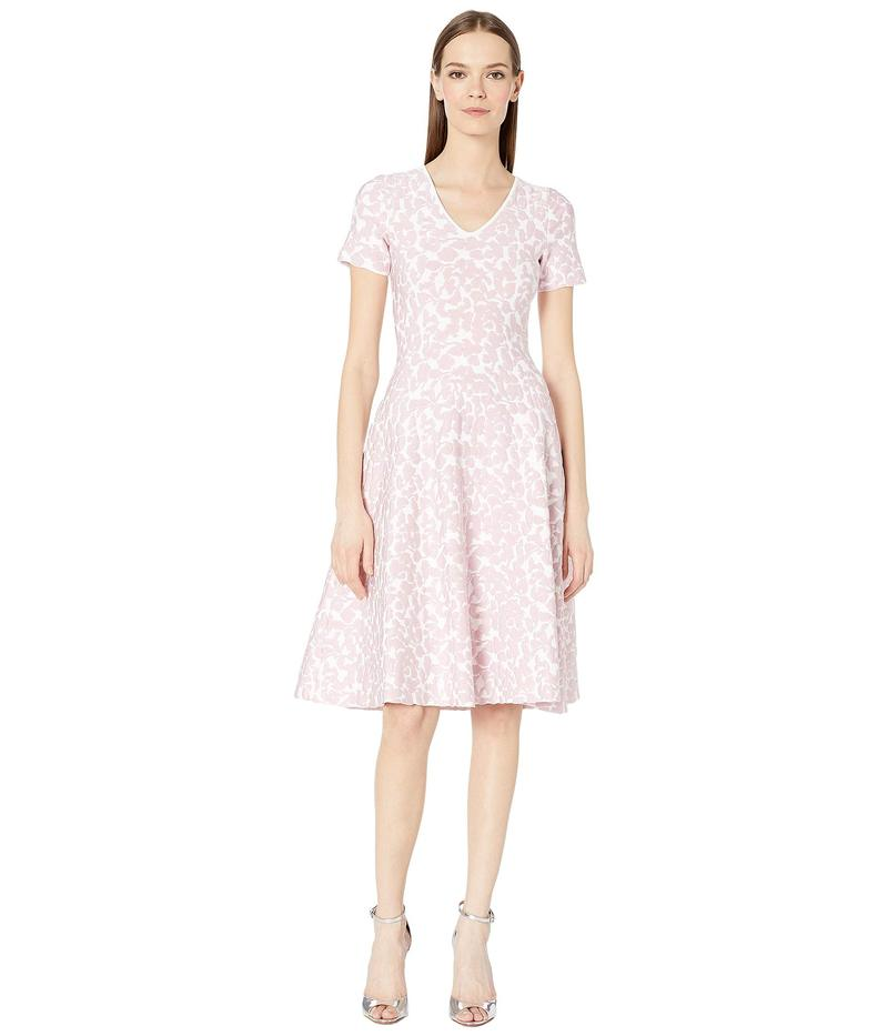 ザックポーゼン レディース ワンピース トップス Knit Flower Dress White/Pink