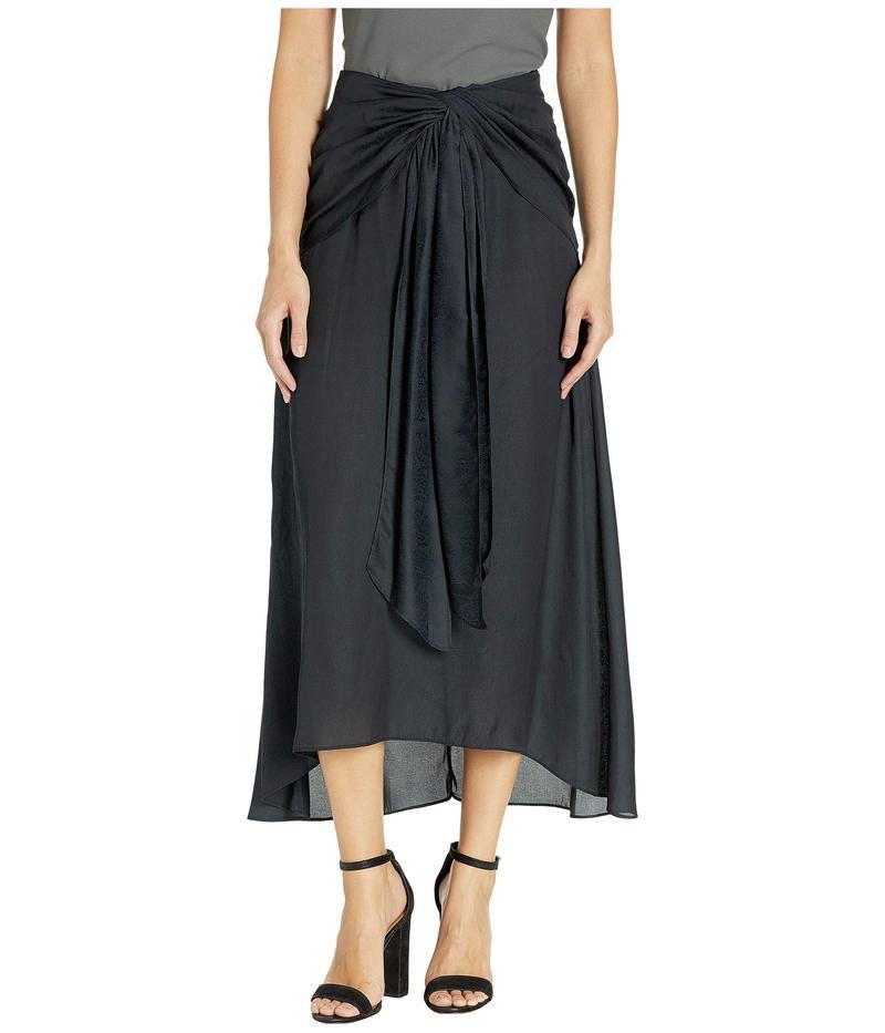 ビーシービージーマックスアズリア レディース スカート ボトムス Midi Wrap Skirt Black