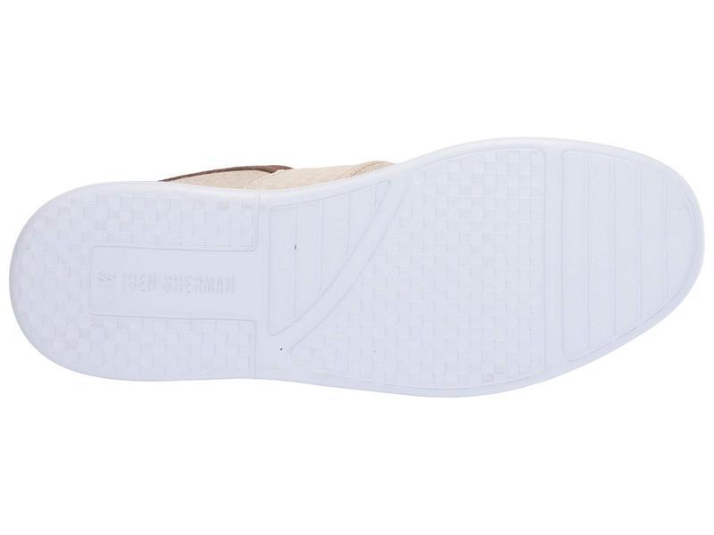 Ben Sherman Mens Parnell Gingham Slip on Sneaker