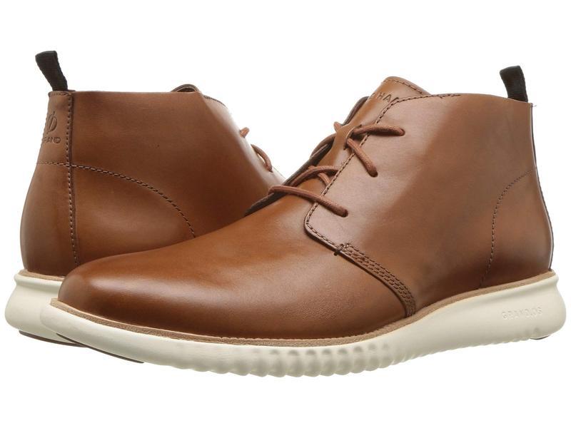 コールハーン メンズ ブーツ・レインブーツ シューズ 2.Zerogrand Chukka British Tan Leather/Ivory