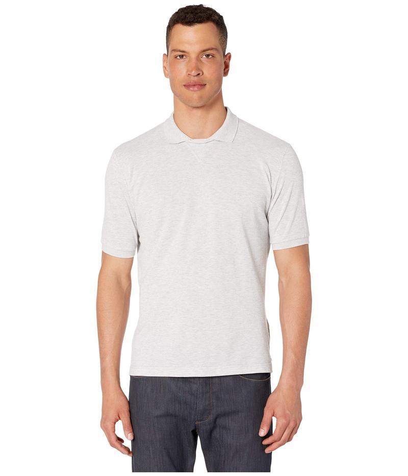 イレブンティ メンズ シャツ トップス Soccer Collar Polo Melange Grey