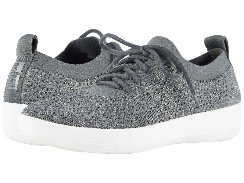 フィットフロップ レディース スニーカー シューズ F-Sporty Uberknit Sneakers Charcoal/Dusty Grey