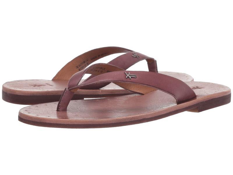 フライ レディース サンダル シューズ Azalea Logo Flip-Flop Lilac Antique Veg Tan