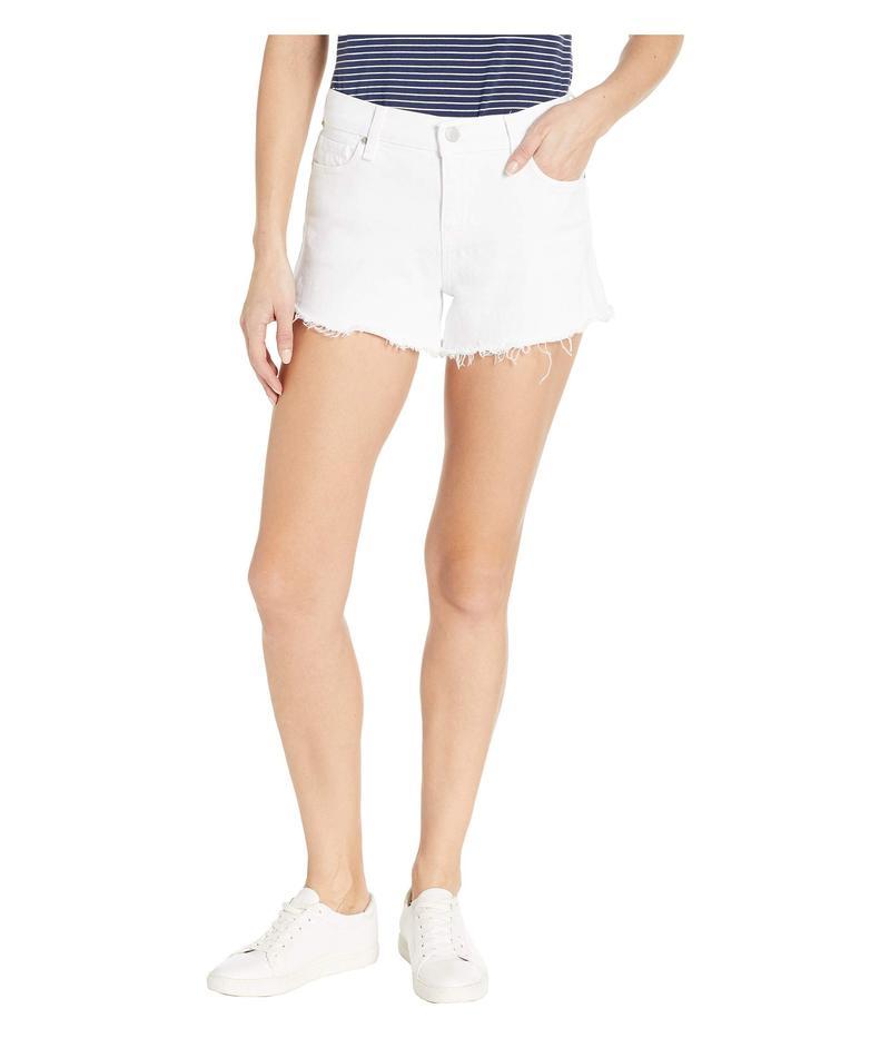 ハドソンジーンズ レディース ハーフパンツ・ショーツ ボトムス Gemma Mid-Rise Cut Off Jean Shorts in White White