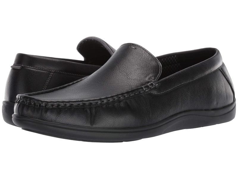 ノンブッシュ メンズ スリッポン・ローファー シューズ Brentwood Moc Toe Venetian Slip-On Black