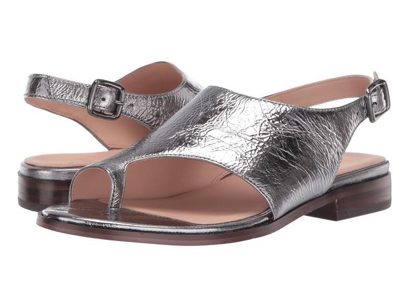ナチュライザー レディース サンダル シューズ 27 Edit Emma Pewter Metallic Shiny Leather
