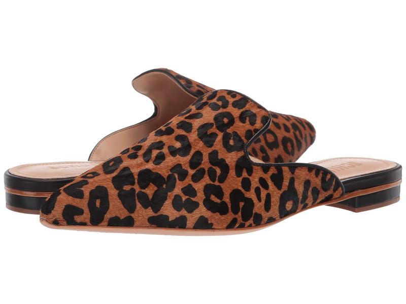 シュッツ レディース スリッポン・ローファー シューズ Tracy Wild Leopard/Sandstone Black