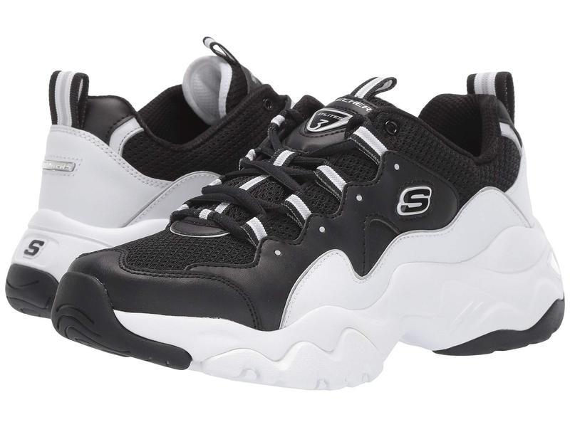 スケッチャーズ メンズ スニーカー シューズ D'Lites 3 Silverwood Black/White