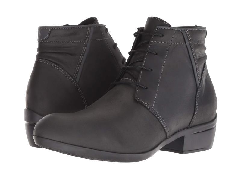 ウォルキー レディース ブーツ・レインブーツ シューズ El Dorado Black Algarve Leather