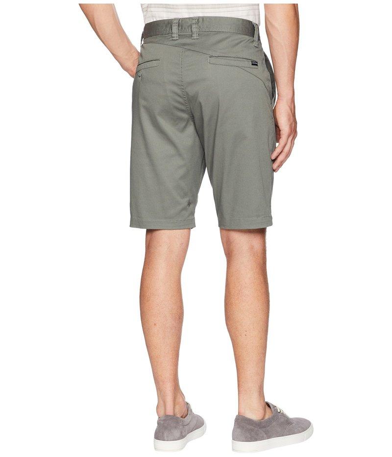 ボルコム メンズ ハーフパンツ・ショーツ ボトムス Zap Frickin Mod Stretch Shorts Dusty GreenBexrCWoQd