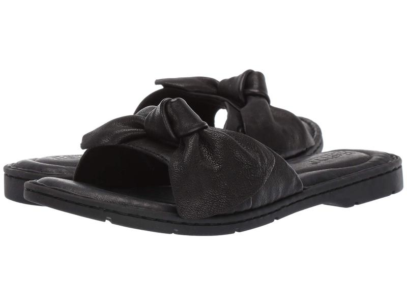 ボーン レディース サンダル シューズ Teton Black Full Grain Leather