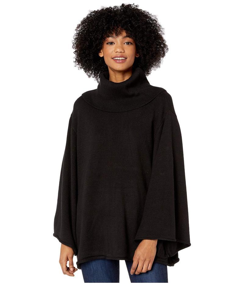 ビーシービージーマックスアズリア レディース ニット・セーター アウター Cowl Long Sleeve Pullover Sweater Black