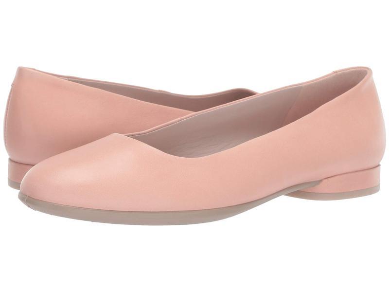 エコー レディース サンダル シューズ Anine Ballerina Muted Clay Calf Leather