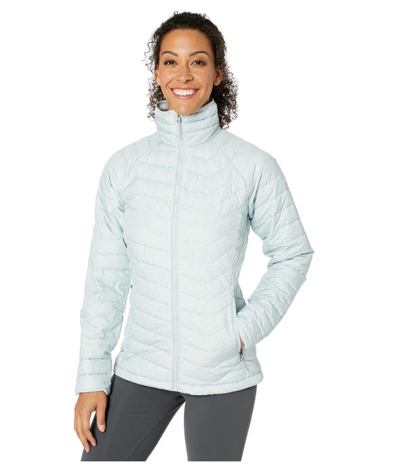 コロンビア レディース コート アウター Powder Lite¢ Jacket Cirrus Grey Sparkler Print