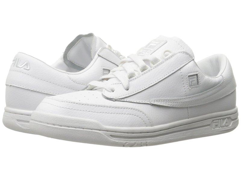 フィラ メンズ スニーカー シューズ Original Tennis White/White/White