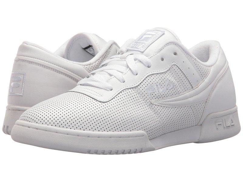 フィラ メンズ スニーカー シューズ Original Fitness Perf White/White/White