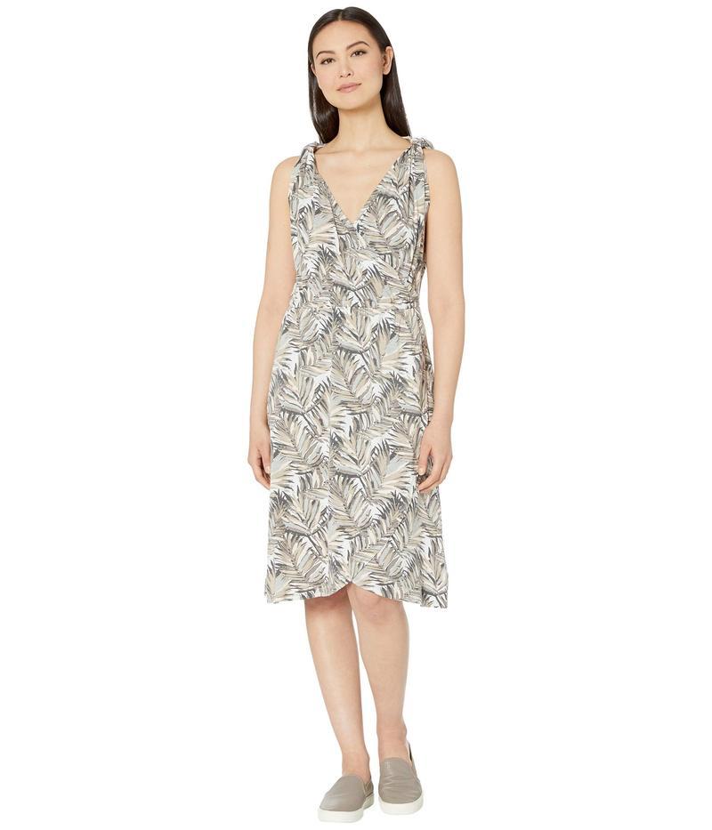 ロイヤルロビンズ レディース ワンピース トップス Noe Cross-Over Dress Light Taupe Print