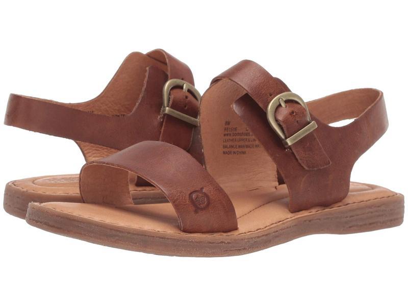 ボーン レディース サンダル シューズ Selway Tan Full Grain Leather