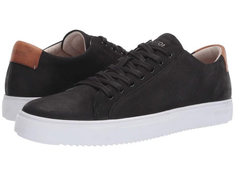 ブラックストーン メンズ スニーカー シューズ Low Sneaker Perf - PM63 Black