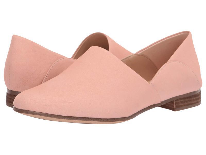 クラークス レディース スリッポン・ローファー シューズ Pure Tone Light Pink Leather