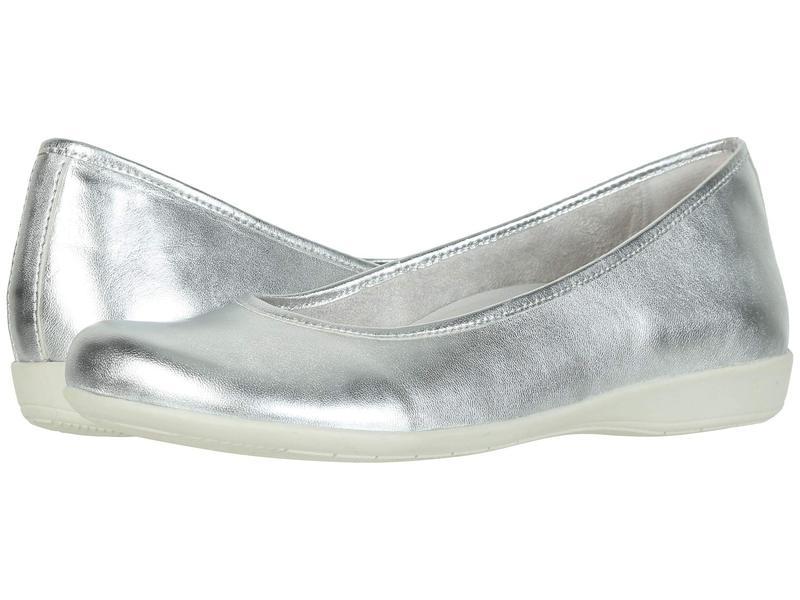 アース レディース サンダル シューズ Astoria Light Silver Metallic Sheep Nappa