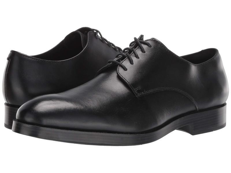 コールハーン メンズ オックスフォード シューズ Harrison Grand Derby Black/Black