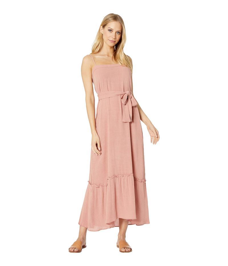 フリンスカイ レディース ワンピース トップス Margo Maxi Crinkle Dress Pink Crinkle