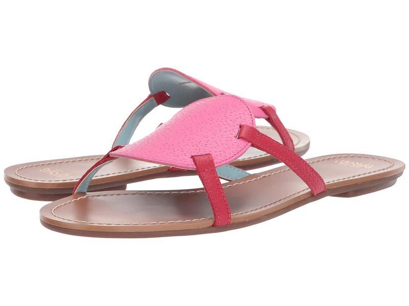 フランセスバレンタイン レディース サンダル シューズ Circle Slide Sandal Pink/Red