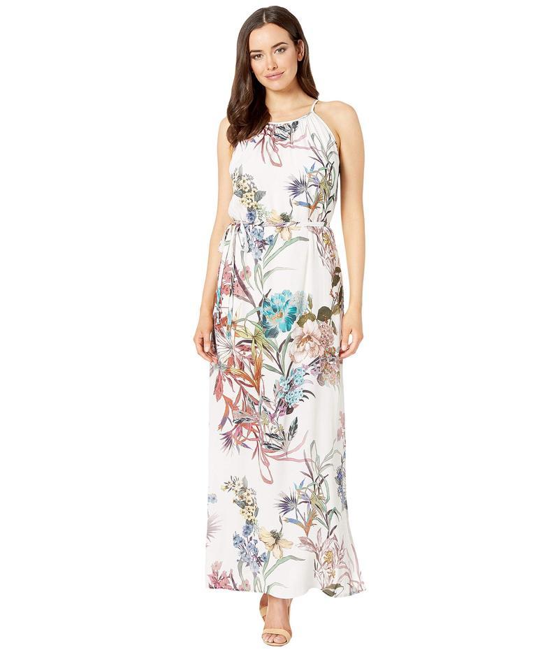 カレンケーン レディース ワンピース トップス Halter Maxi Dress Print