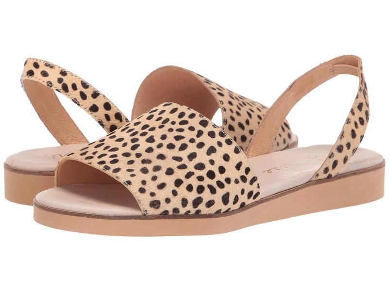マチス レディース サンダル シューズ Easy Flat Sandal Natural Leopard