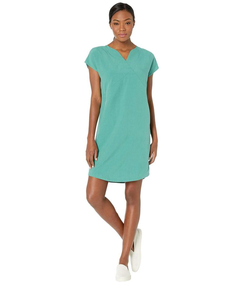 ナウ レディース ワンピース トップス Flaxible Short Sleeve Mod Dress Jade