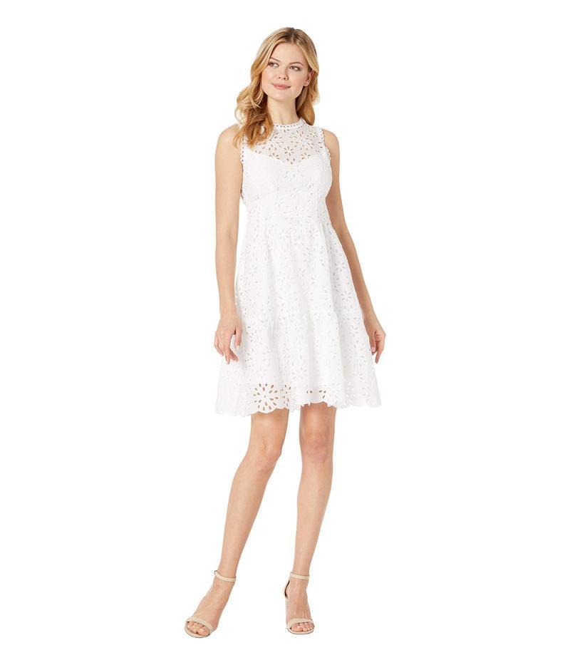 ナネットレポー レディース ワンピース トップス Flower Child Dress White
