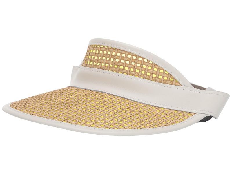 送料無料 サイズ交換無料 ラグアンドボーン レディース アクセサリー 帽子 Natural/White ラグアンドボーン レディース 帽子 アクセサリー Straw Visor Natural/White