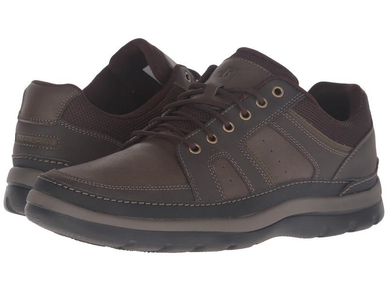 ロックポート メンズ スニーカー シューズ Get Your Kicks Mudguard Dark Brown Leather