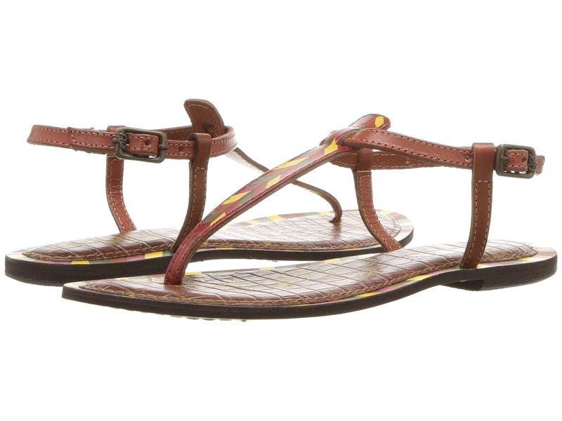 サムエデルマン レディース サンダル シューズ Gigi 5 Saddle Painted Chevron Leather
