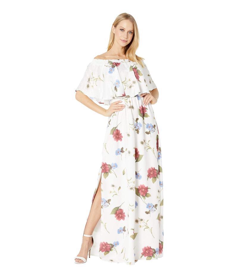 ウミーユアムーム レディース ワンピース トップス Hacienda Dress Florence Floral Silky Dots