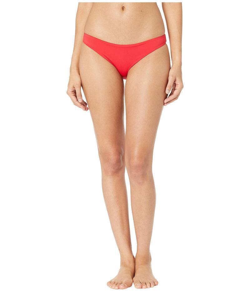 ステラマッカートニー レディース ボトムスのみ 水着 Pansy Print Classic Bikini Red