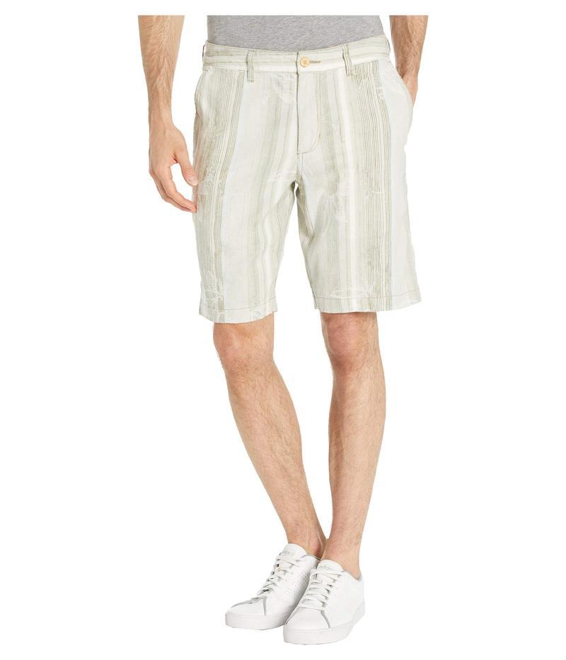 トッミーバハマ メンズ ハーフパンツ・ショーツ ボトムス Marina Del Stripe Shorts Khaki