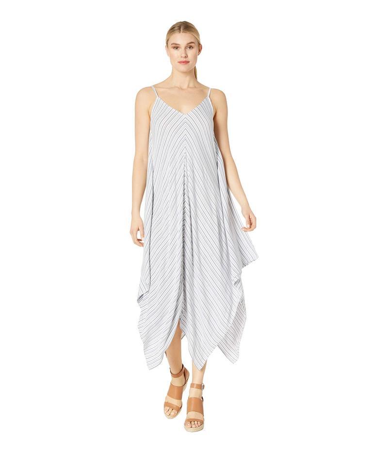 トッミーバハマ レディース ワンピース トップス Yarn-Dye Stripe Scarf Dress White/Mare Navy