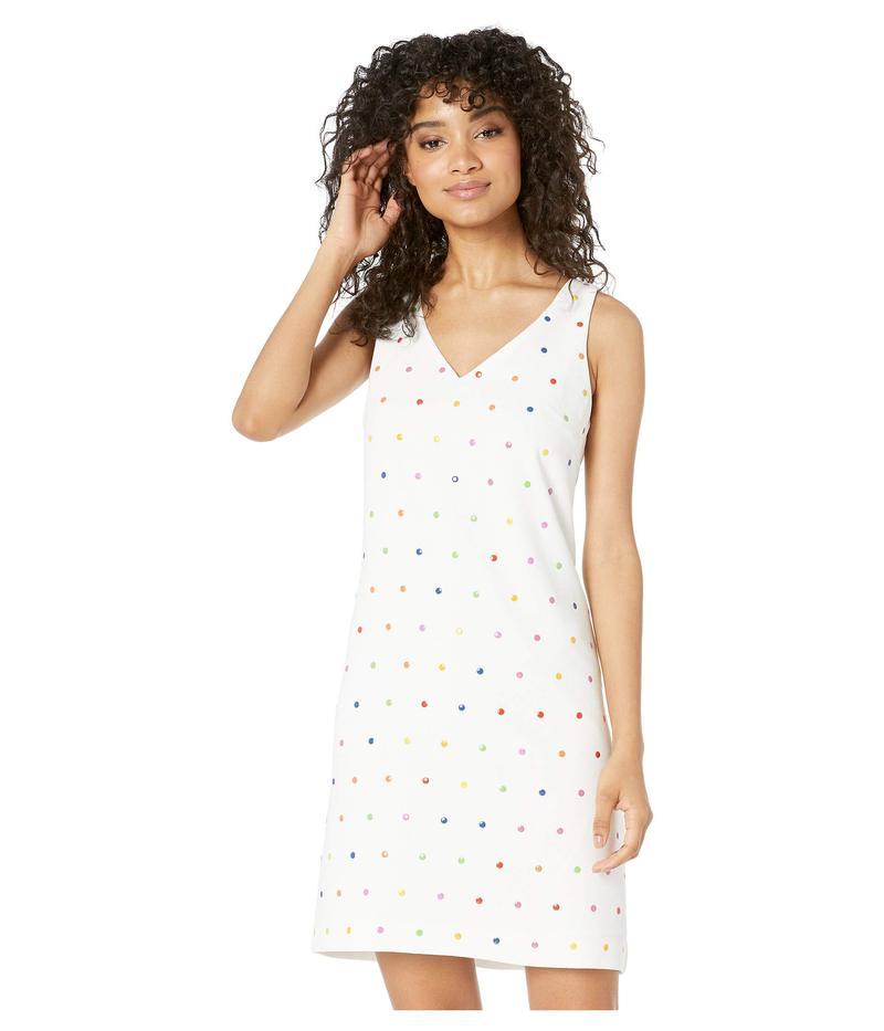 トリーナターク レディース ワンピース トップス Colorful Dress Whitewash