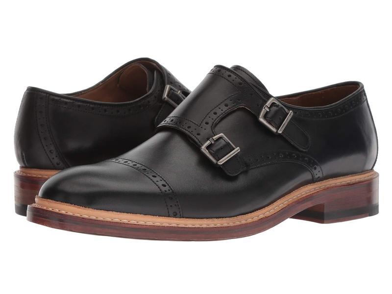 ボストニアン メンズ オックスフォード シューズ Somerville Mix Black Leather