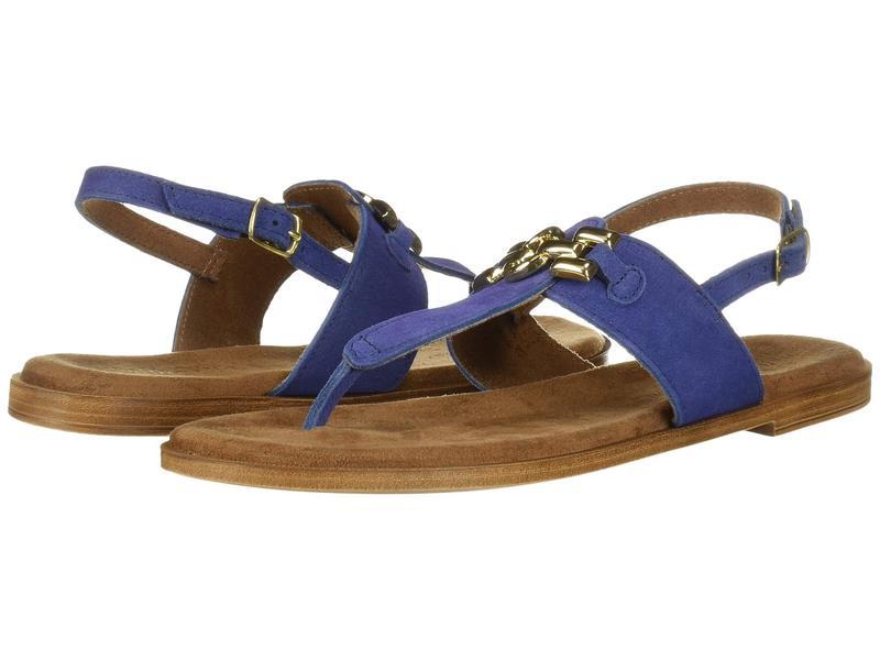 ベラビタ レディース サンダル シューズ Lin-Italy Blue Italian Suede Leather